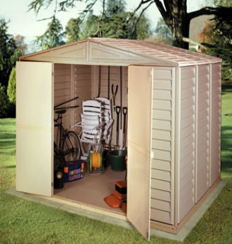 cheap garden sheds. Plastic Sheds UK, Duramax Cheap Sheds, Vinyl Garden UK